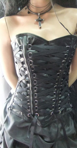 Medieval corset/Steam Punk corset /Gothic corset/Sexy leather corset/Steampunk corset/Black corset/Push up corset/Sexy Top