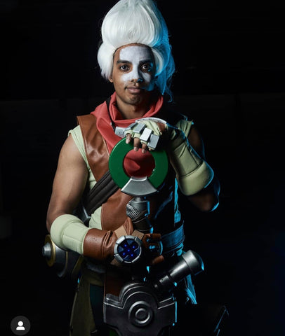 Ekko cosplay costume/ League of legends Ekko costume / Ekko cosplay armor