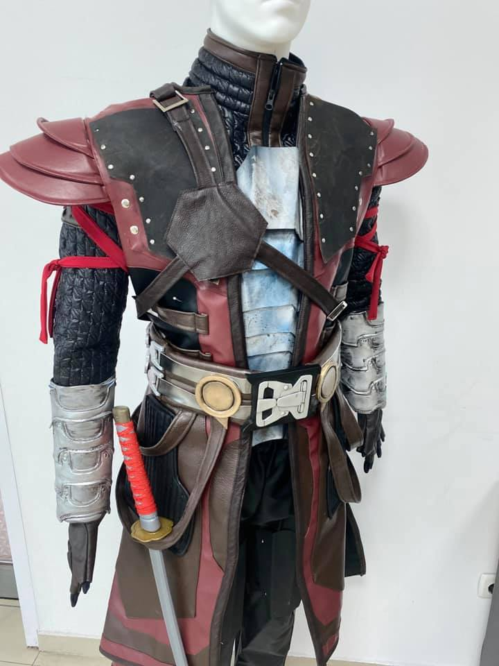 Kenshi full cosplay costume / MK Kenshi outfit and armor