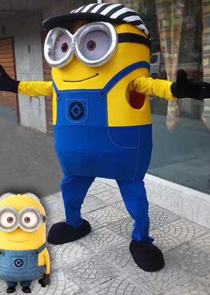 Minion mascot / Despicable me cosplay Minion costume/ Giant mascot