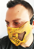 Mortal Kombat cosplay mask