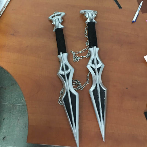 Mortal Kombat cosplay weapons