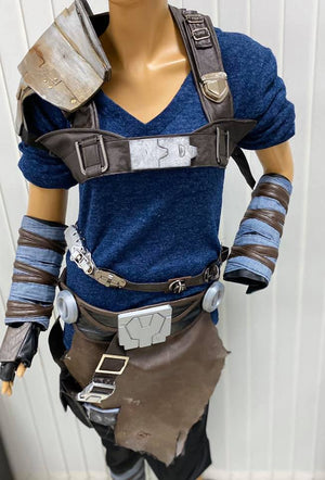 starkiller cosplay costume with accessories
