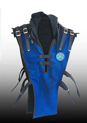 Sub Zero plain tabard with hood
