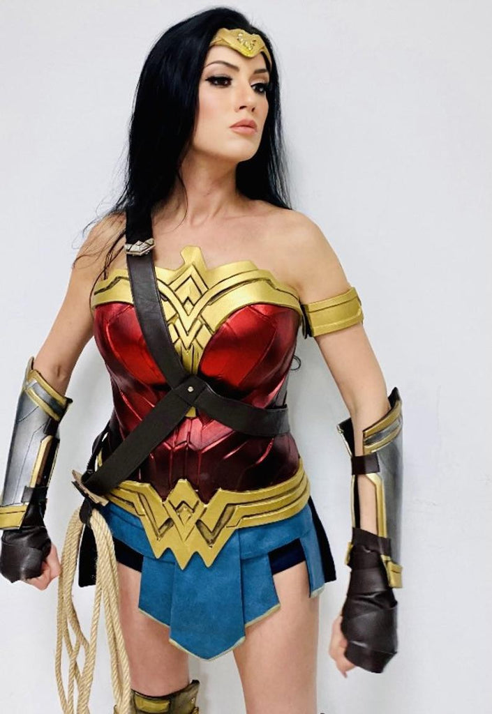 quality wonder woman cosplay costume