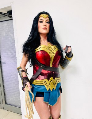 Wonder Woman costume made to custom measurements