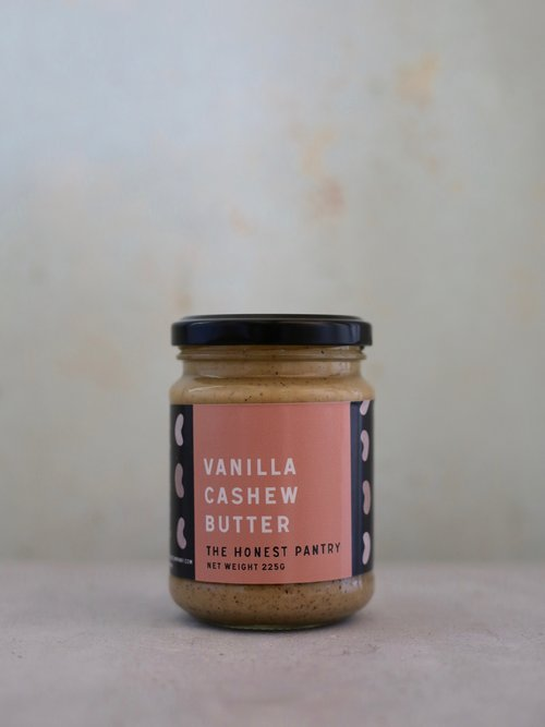 Honest Pantry Co Vanilla Cashew Butter 225g Spreads Honey and Tahini