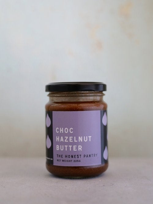 Honest Pantry Co Choc Hazelnut Butter 225g Spreads Honey and Tahini