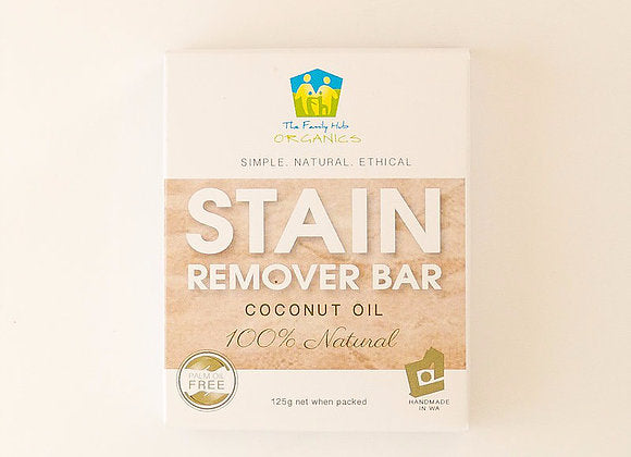 Family Hub Laundry Stain Remover Bar 125g Home & Cleaning