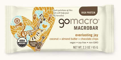 GoMacro Coconut, Almond & Choc Chip Bar 65g Snacks