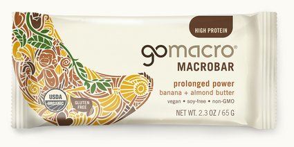GoMacro Banana & Almond Butter Bar 65g Snacks