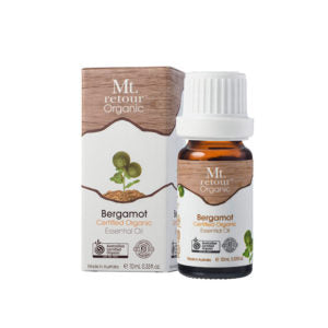 Mt Retour Bergamot Essential Oil Organic 10ml Essential Oils & Candles