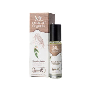 Mt Retour Breathe Better Roll On Blend Organic 10ml Essential Oils & Candles