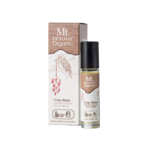 Mt Retour Cosy Sleep Roll On Blend Organic 10ml Essential Oils & Candles
