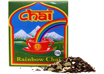 Chai Rainbow Chai 150g Teas Coffees and Blends