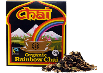 Chai Rainbow Chai Organic 100g Teas Coffees and Blends