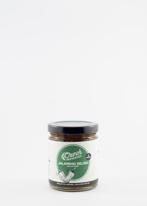 Crunch Preserves Jalapeno Relish 200g Sauces & Condiments