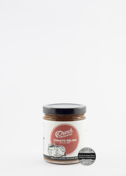 Crunch Preserves Tomato Relish 200g Sauces & Condiments