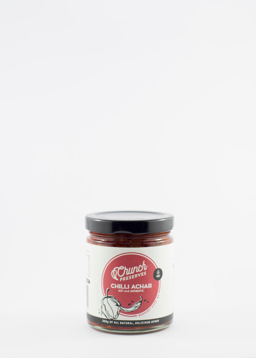 Crunch Preserves Chilli Achaar 200g Sauces & Condiments
