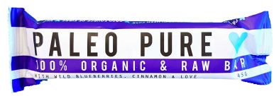 Paleo Pure Raw Bar With Blueberries & Cinnamon 45G