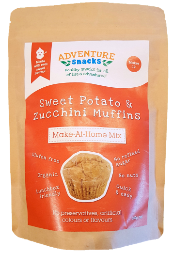 Adventure Snacks Adventure Snacks Sweet Potato and Zucchini Muffin Mix 350G