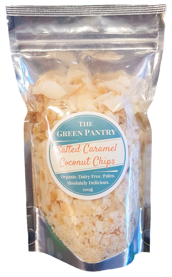 Salted Caramel Coconut Chips Gp