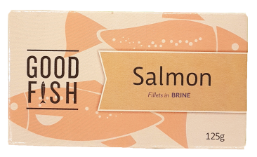Good Fish Salmon in Brine-Can Canned Products