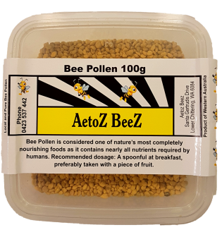 Aetoz Beez Bee Pollen 100g Supplements