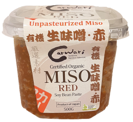 Carwari Organic Red Miso 500g Sauces & Condiments