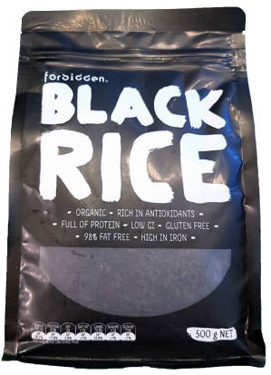 Forbidden Black Rice Organic 500g