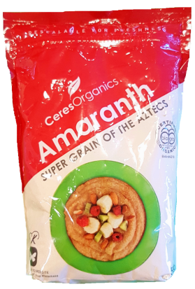 Ceres Organics Organic Amaranth 500g Grains