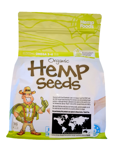 Hemp Foods Hemp Seeds 1Kg