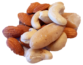 Almonds, Brazil Nuts and Cashew Nut Mix Organic