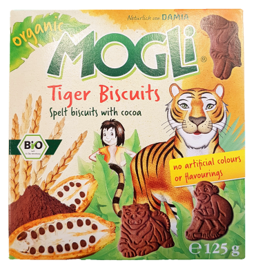 Mogli Tiger Kekse Box Baby Toddler and Kids