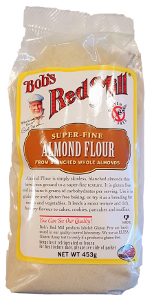 Bob's Red Mill Almond Meal Flour Gluten Free 453g Baking & Making