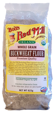 Bob's Red Mill Buckwheat Flour Organic 623g Baking & Making