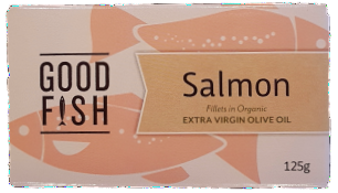 Good Fish Salmon in Olive Oil- Can Canned Products