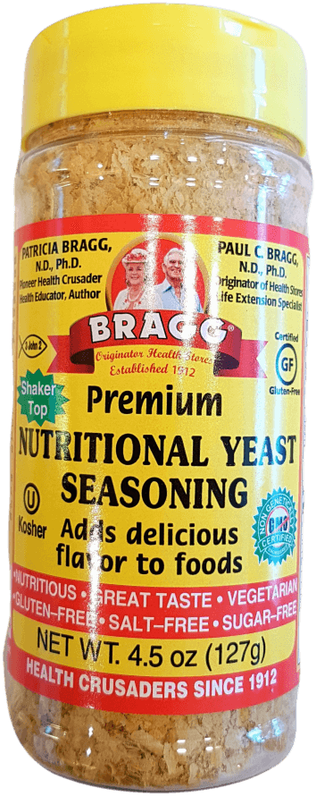 Bragg Seasoning Nutritional Yeast 127g Herbs Spices and Salt