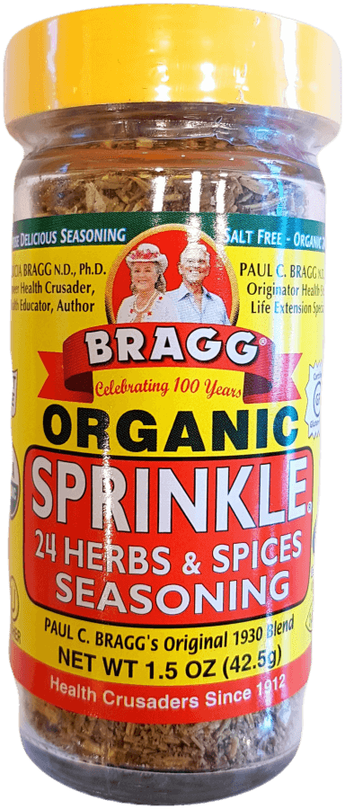 Bragg Seasoning Organic Sprinkle 42.5g Herbs Spices and Salt