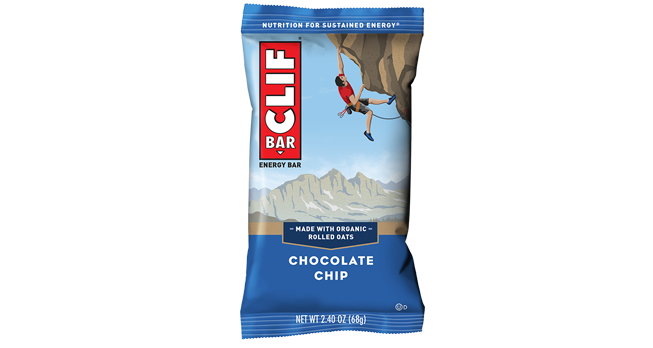Clif Bar Chocolate Chip 68g Snacks & Trail Mixes