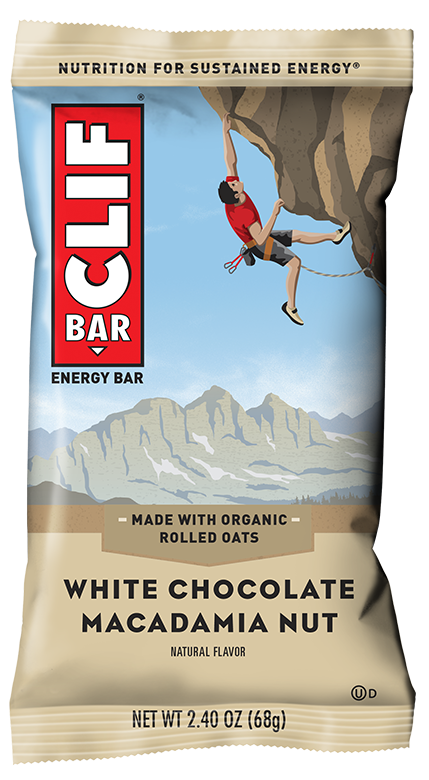 Clif Bar White Chocolate Macadamia 68g Snacks & Trail Mixes