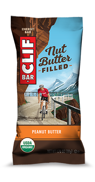 Clif Nut Butter Bar Peanut Butter 50g Snacks & Trail Mixes