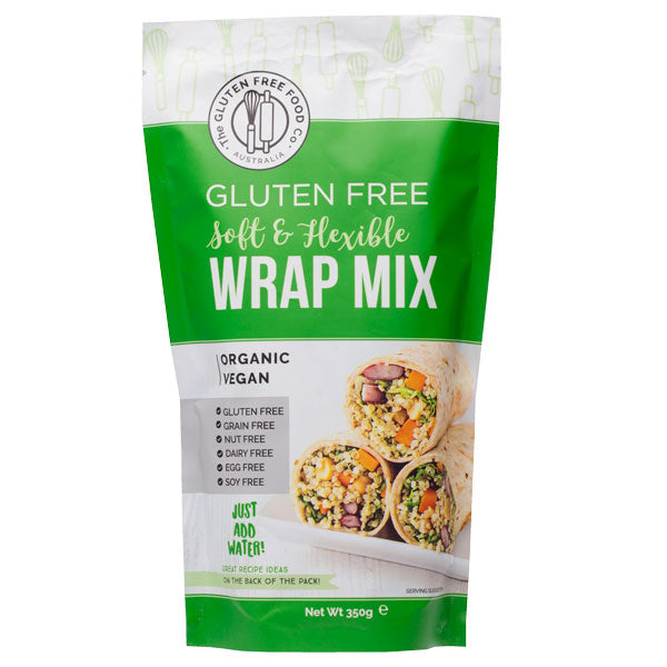 The Gluten Free Food Co Wrap Mix 350g Make at Home Mixes