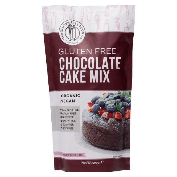 The Gluten Free Food Co Chocolate Cake Mix 500g Make at Home Mixes