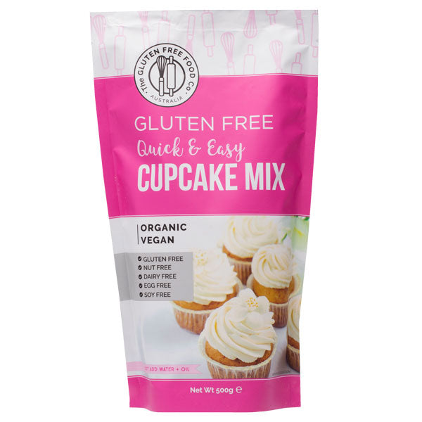 The Gluten Free Food Co Cupcake Mix 500g Make at Home Mixes