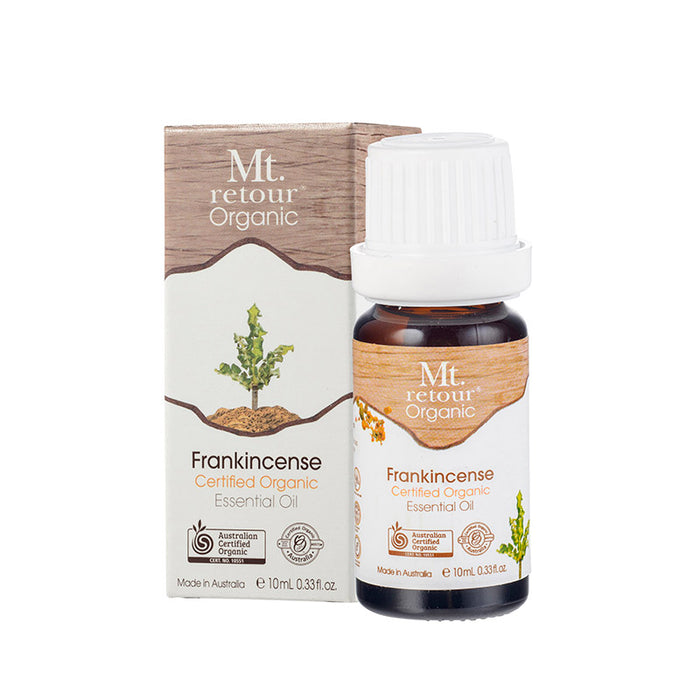 Mt Retour Frankincense Essential Oil Organic 10ml Essential Oils & Candles