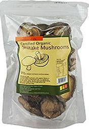Nutritionist Choice Shiitake Mushrooms 45g Mushroom Products