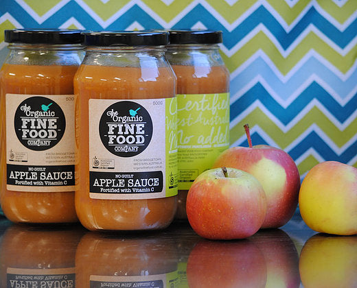 Organic Fine Food Co. Apple Sauce 500ml Sauces & Condiments