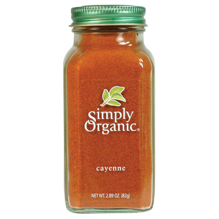 Simply Organic Cayenne Pepper 82g Herbs Spices and Salt