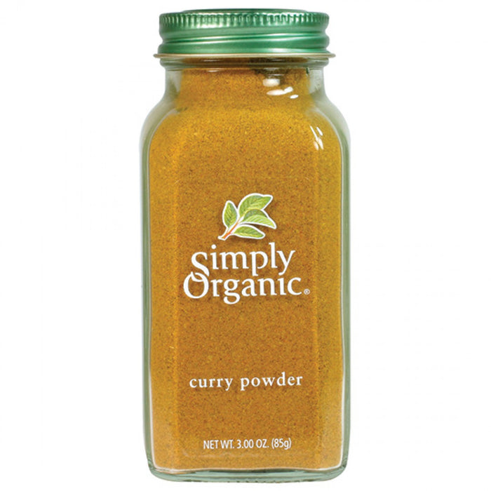 Simply Organic Curry Powder 85g Herbs Spices and Salt
